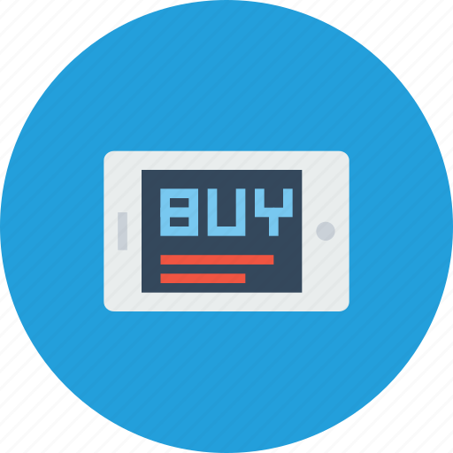 buy, mobile, online, optimization, sale, seo, shopping icon