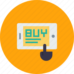 buy, mobile, online, optimization, sale, seo, shopping icon