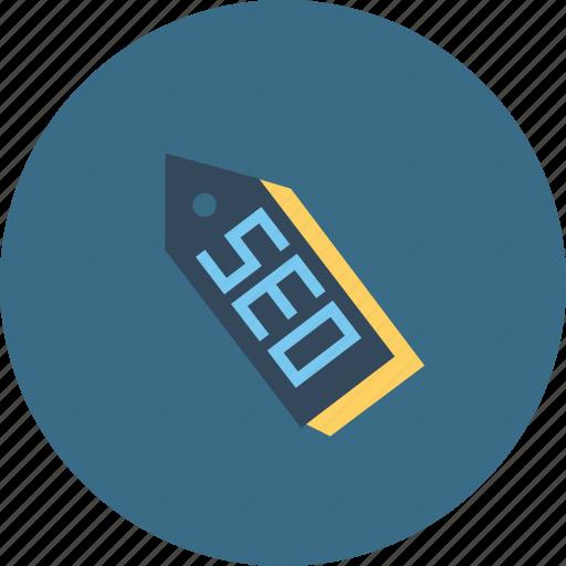label, optimization, ribbon, search, seo, tag, tool icon