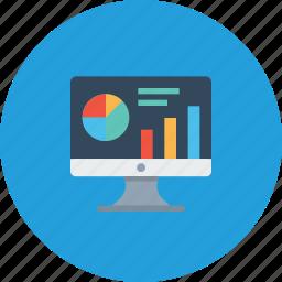 analytics, data, graph, market, performance, research, statics icon