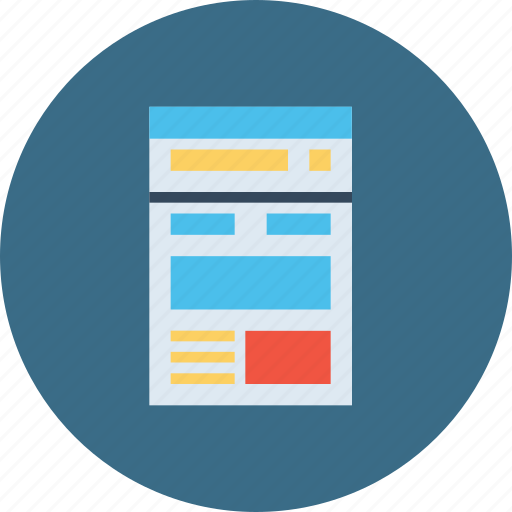 blog, browser, news feed, optimization, report, seo, window icon