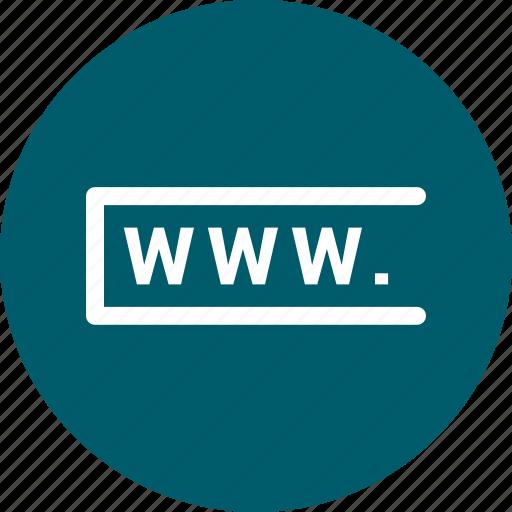 address, link, web, www, www.com icon