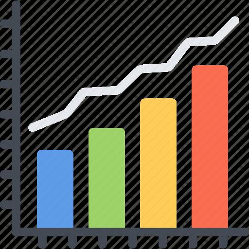 analytics, bar, business, chart, diagram, graph, seo icon