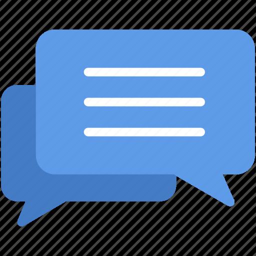 chat, comment, communication, conversation, speech, talk icon