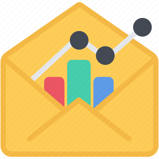 analytics, chart, diagram, email, graph, report, seo, statistics icon