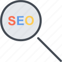 business, find, marketing, search, seo, web icon