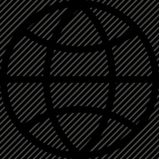 globe, international, seo, web icon