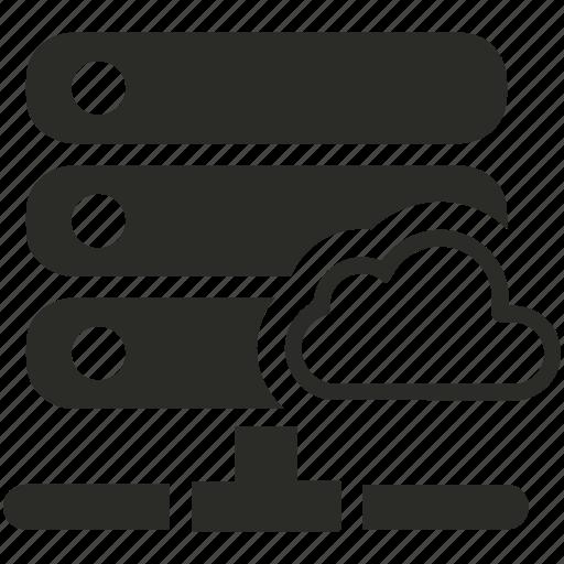 cloud, database, server, storage icon
