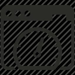 browser, data, download, internet, speed, test, upload icon