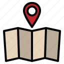location, map, pointer, seo, web icon