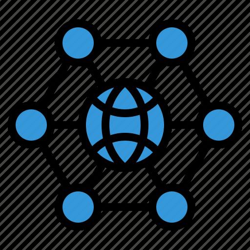 globe, link, seo, social, socialmedia, web icon