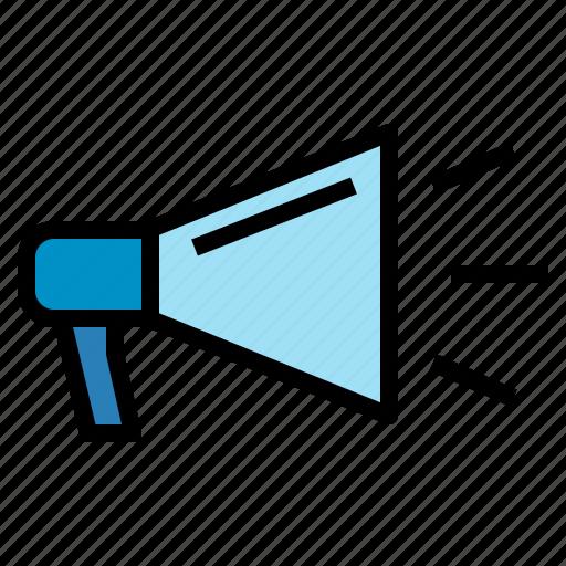 megaphone, seo, viral, web icon