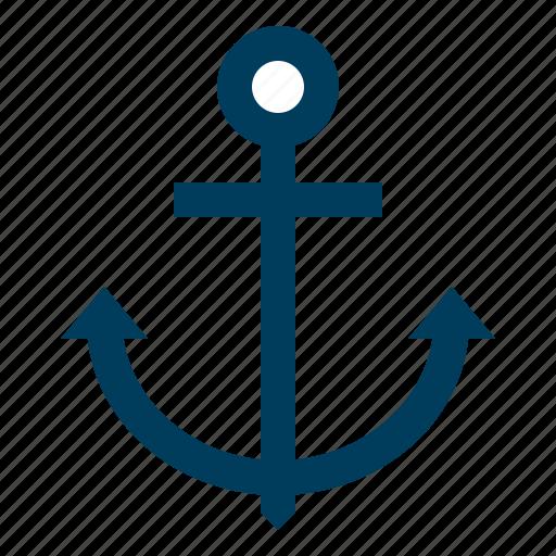 anchor, link, seo, text, web icon
