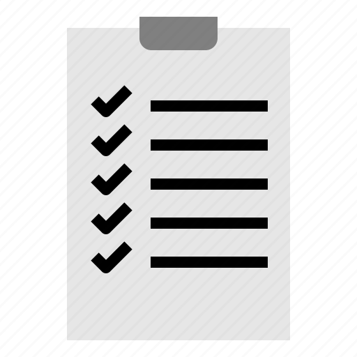 check, checklist, paper, plan, seo, web icon
