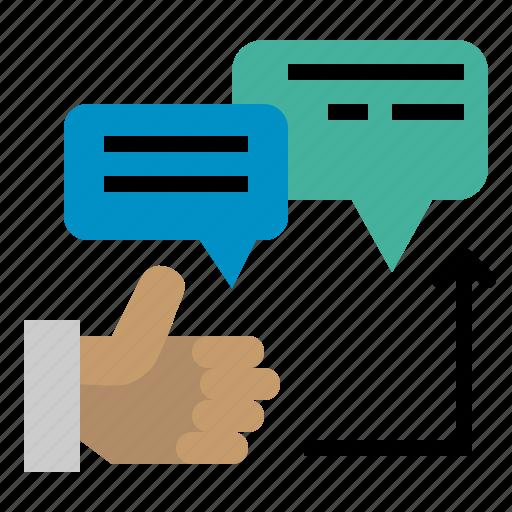 comment, good, seo, speech, text, web icon