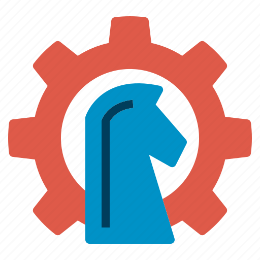 gear, growth, horse, plan, seo, strategy, web icon
