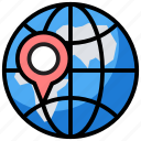 global location, gps, international location, search location, world location icon