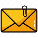 electronic mail, email, envelope, internet mail, mail message icon