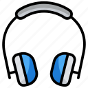 earbuds, earphones, headphone, headset, output device icon