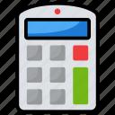 accounting, adder, calculator, digital calculator, number cruncher icon