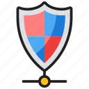 cybersecurity, cyberspace, network shield, privacy concept, shield antivirus icon