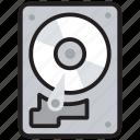 disk player, hard disc, hard drive, hardware, storage device icon