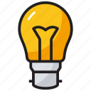 creativity, idea, innovation, inventiveness, light bulb icon