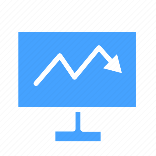 analytic, business, computer, device, monitoring, pc, technology icon