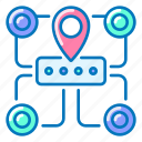 map, seo, site icon