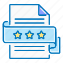 page, quality, ribbon, seo, stars icon