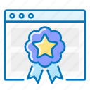 badge, rankings, seo, website icon