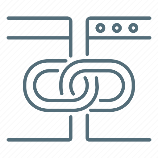 building, link, seo, site icon