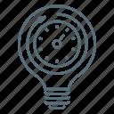 bulb, clock, light, productivity, seo, time