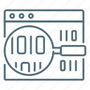 code, coding, magnifier, search, seo, site