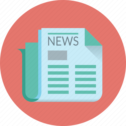 events, information, news, newspaper, paper, press, text icon