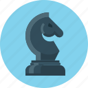 business, chess, chessman, figure, horse, marketing, strategy icon