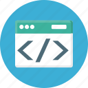 code, coding, development, html, program, programming, script icon