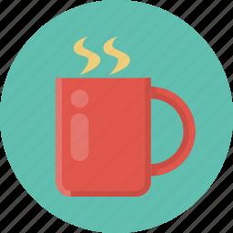 break, breakfast, cafe, coffee, coffee break, cup, tee icon