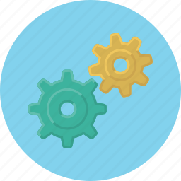 cogwheels, configuration, gear, service, setting, system, wrench icon