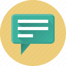 bulb, chat, comment, communication, consultancy, message, network icon