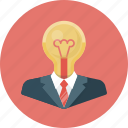 bulb, business, creative, creative idea, idea, lamp, light icon