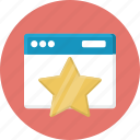 achievement, bookmark, favorit website, favorite, star, website icon