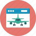 aircraft, development, landing, landing page, website icon