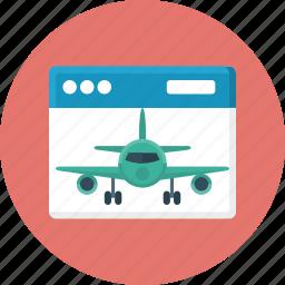 aircraft, development, landing, landing page, website icon