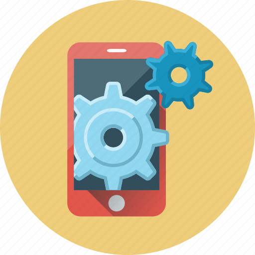 configuration, mobile, mobile seo, phone, seo, settings, smartphone icon