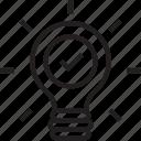 bulb, idea, invention, light bulb, luminaire