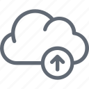 cloud computing, cloud transfer, cloud uploading, cloul upload, data transmission icon