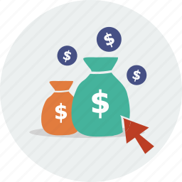 cart, cash, currency, dollar, money, sale, shopping icon