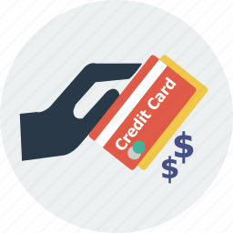 basket, business, card, cart, cash, money, payment icon