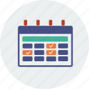 alarm, alert, business, calendar, day, month, year icon